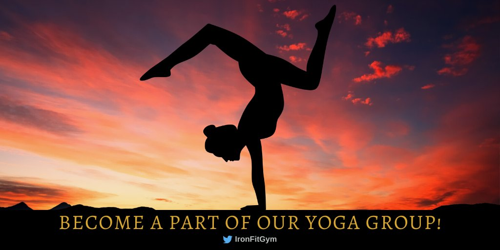 Do you enjoy Yoga? Join us and our group every Sunday! We look forward to seeing you soon. For more information visit: https://buff.ly/2DyJhRF #fitness #fitnesstips #fitnessmotivation #personaltrainer #membershippic.twitter.com/zBuwfqQAck