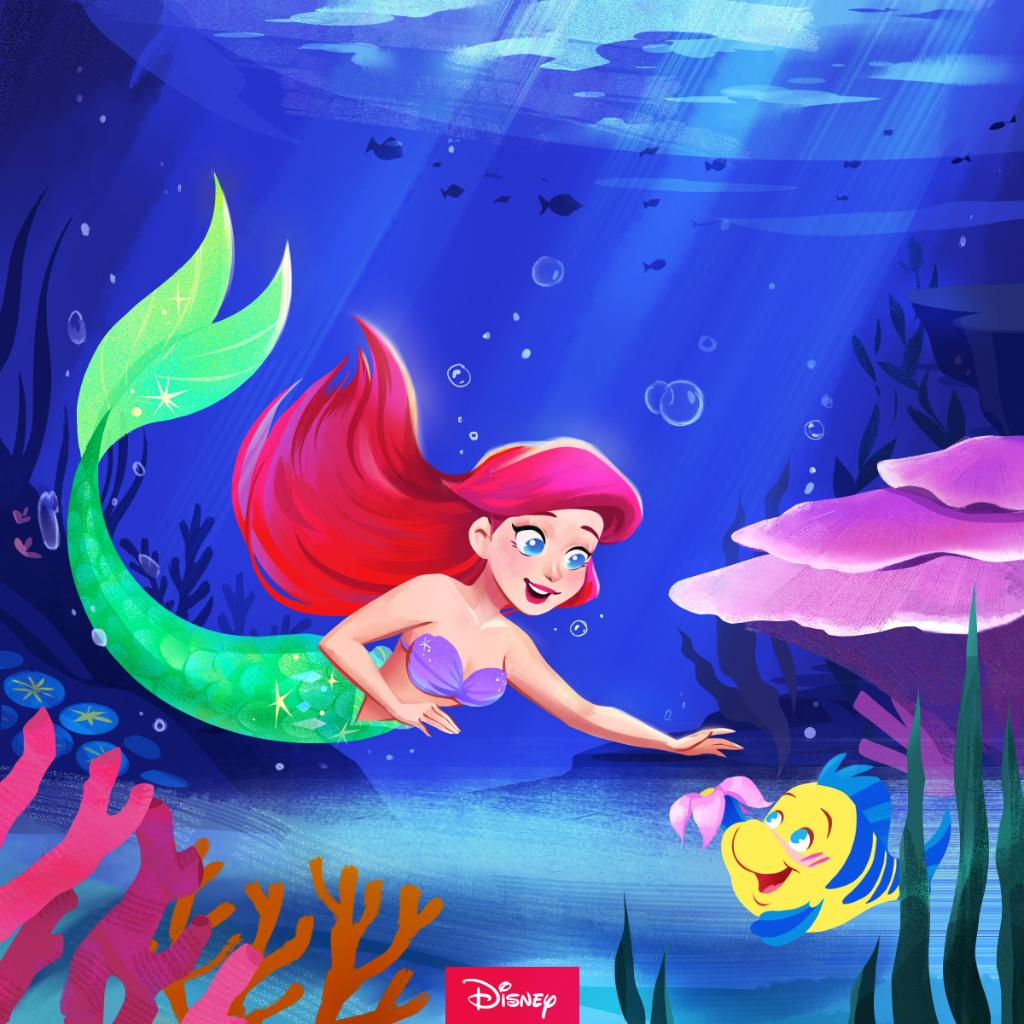 Friendships are the bubbles under the sea.