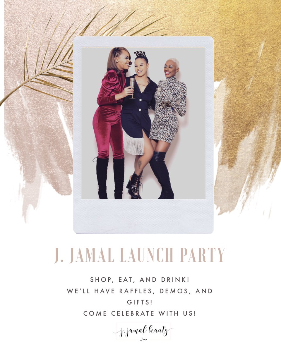 We are so excited, can't you tell?! 😆#jjamalbeauty #beauty #baltimoremakeupartist #beautybrand #launchparty #party #newyear #newgoals #countdown #brunch #shopsmall #lashes #lipgloss #merch #mascara