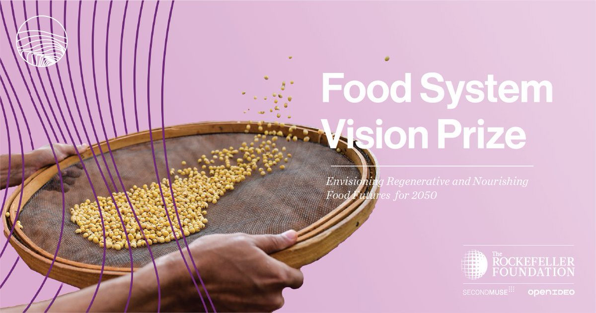 Even as food and agriculture underpin so many individuals' and countries' prosperity, wealth distribution is wildly unequal. How might a reimagined food future address this problem? #FoodVision2050 http://bit.ly/2My1l0zpic.twitter.com/KXR1PiDUR5
