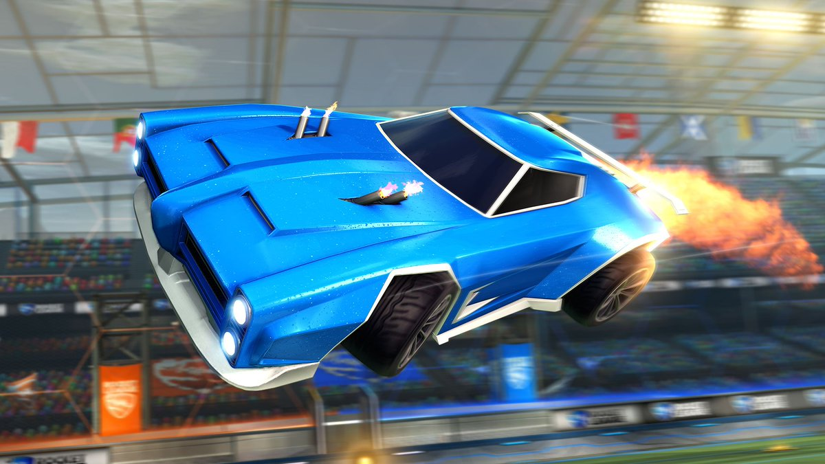Rocket League Professional Car Selection