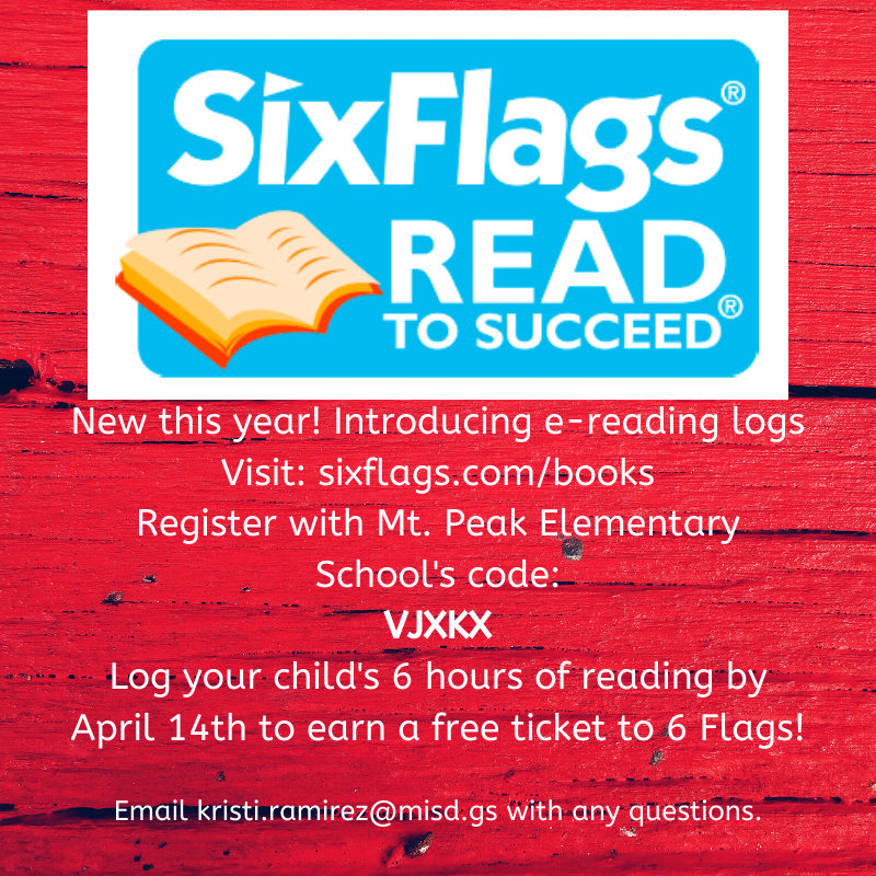 Don't forget to register your child for #ReadtoSucceed @mtpeak_elem #MPEmpower