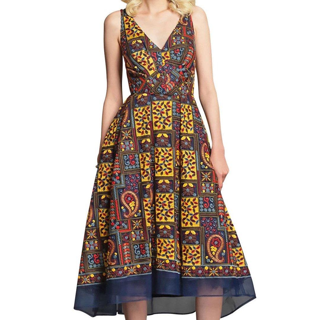 Check out Eva Franco Charlotte Paisley Embroidered Sleeveless Midi Dress -Designer Clothes #fashion #style #dress #embroidery #casualstyle #mididress #dresses #fitflaredress #clothes #paisley https://ebay.us/VZqc9K via @eBaypic.twitter.com/PkiUgx8BDd