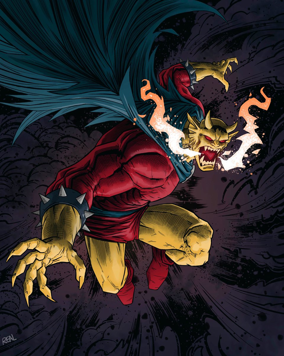 Etrigan the Demon  Kirby's characters are really cool to draw. - - - - - #etrigan #demon #dccomics #dccomicsart #jackkirby #comicbook #comicart #comicbookart #comicbookartist #joserealart #comic #dccomicsfanart #dccomicsfanpic.twitter.com/lwcmRtLsFH