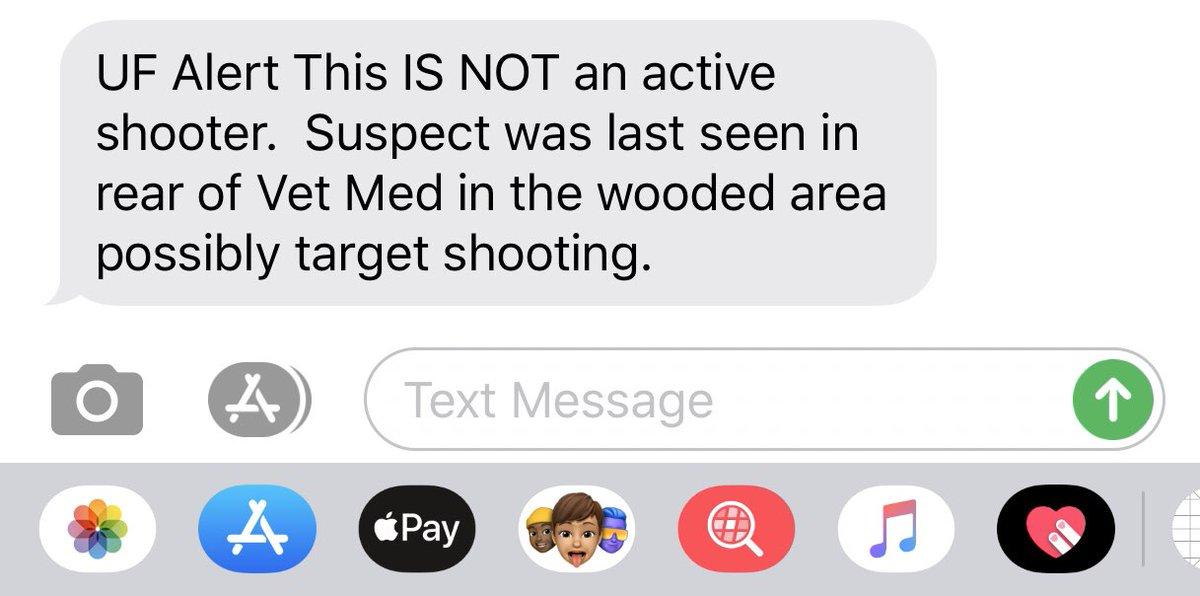 It's just #FloridaMan outside target shootin'