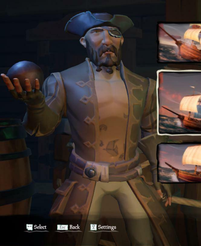 """A pirate"" posted by u/liamkuchta in r/SeaOfFashion  #SeaOfFashion #BeMorePirate #SoTShot #SeaOfThieves"