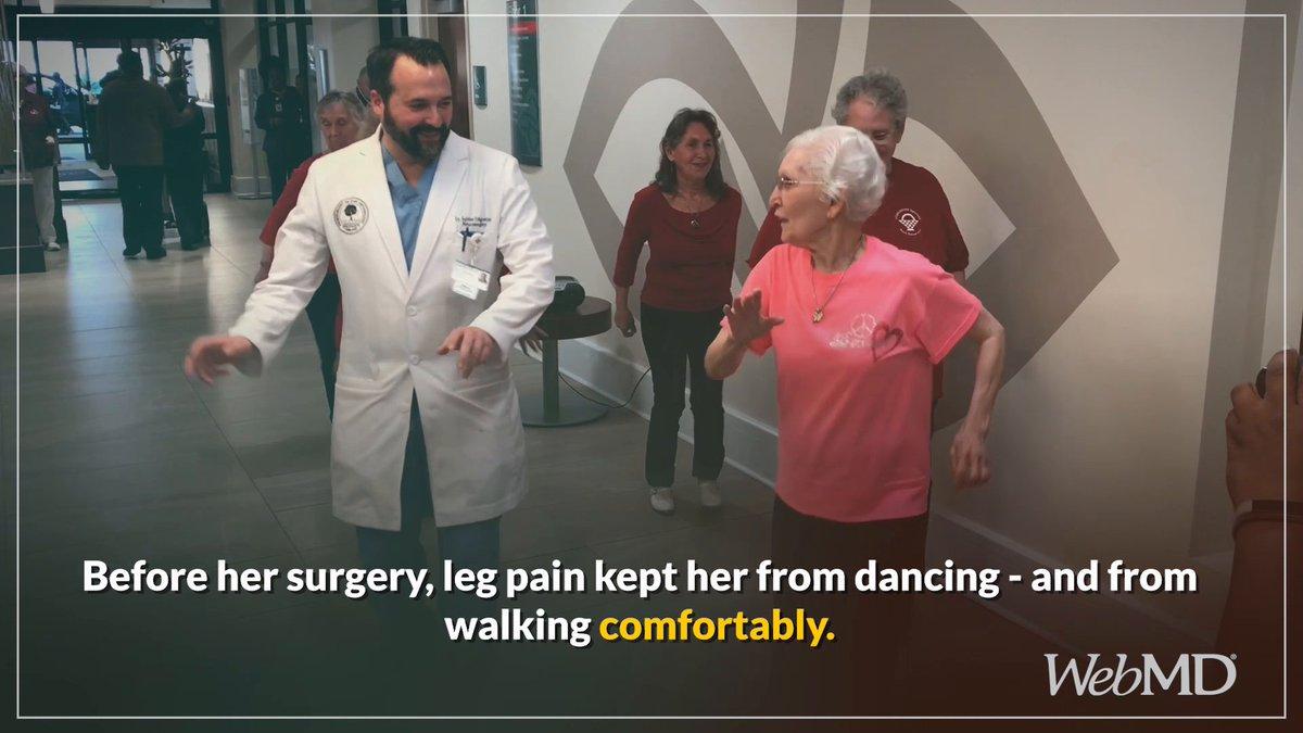 Image for the Tweet beginning: Before her surgery, Julia's leg