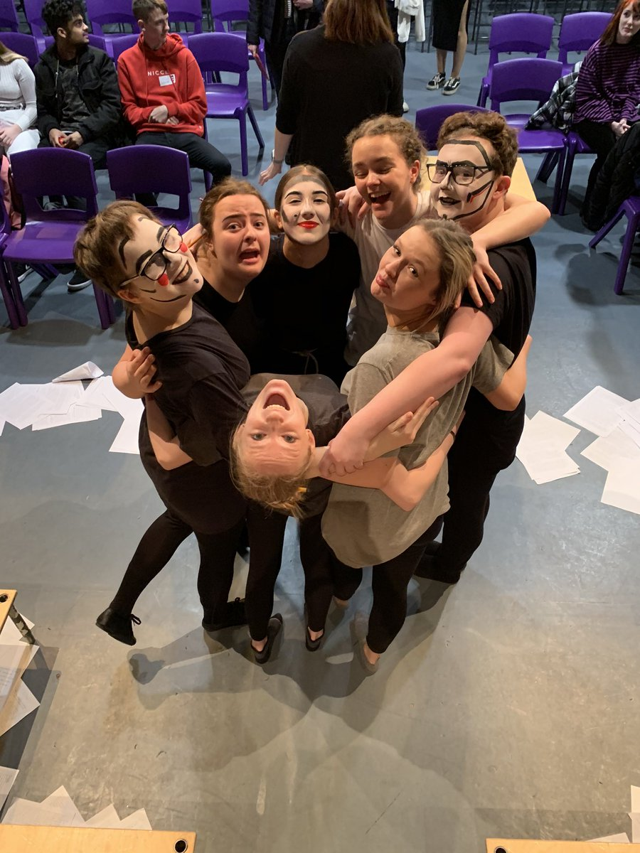 As of yesterday this lovely bunch completed 60% of their Alevel! Their performances for C2 were epic and Mrs Chandler and Miss Mowatt are so proud of them! #sbedrama #aleveldrama #edexceldrama #workhardplayhardpic.twitter.com/Ux18Co48O2