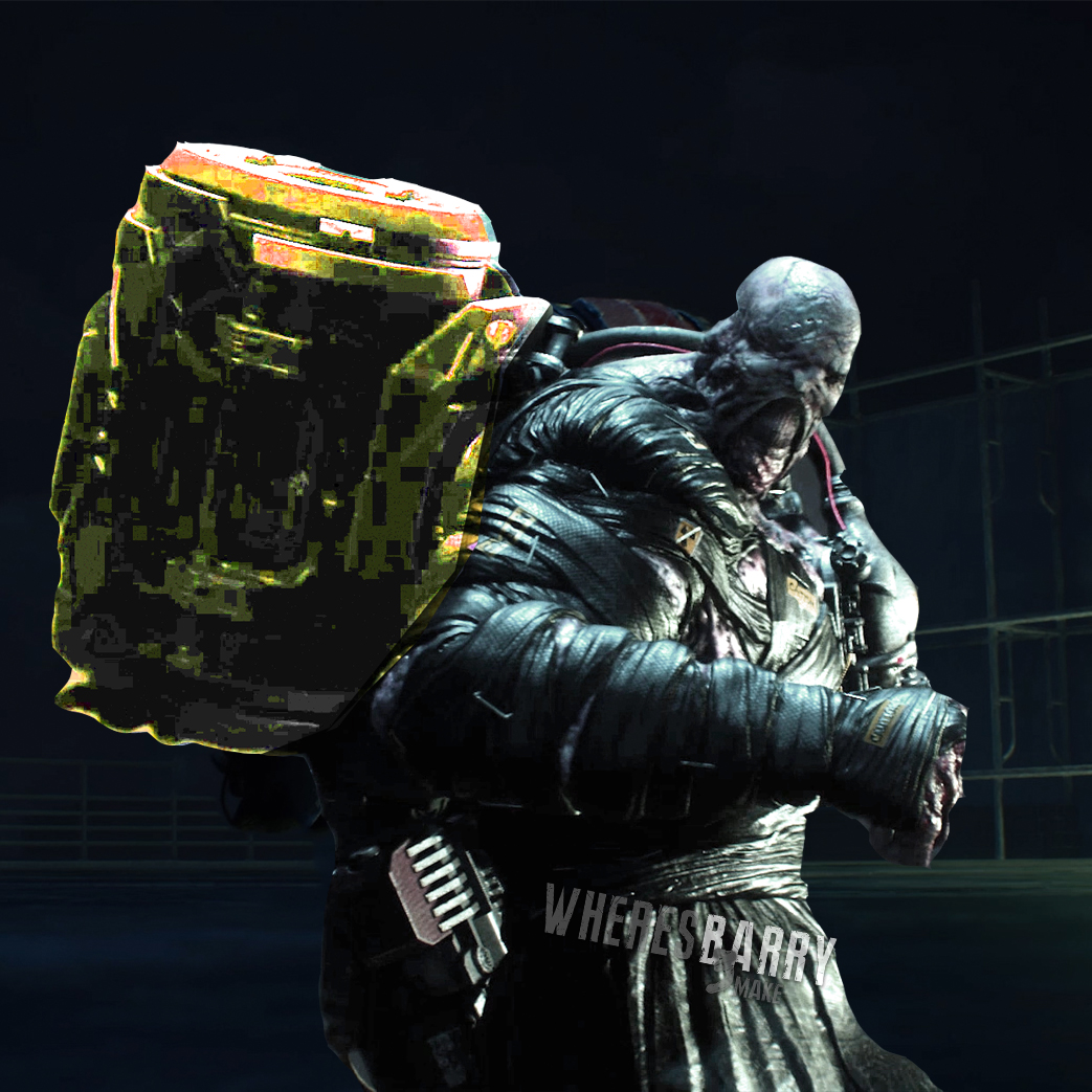 Where S Barry On Twitter I Need To Know How Nemesis Turned From A Rocket Launcher Wielding Monster In The Original Into A Deathstranding Porter In The Remake Residentevil3remake Https T Co 6quka1jq9q
