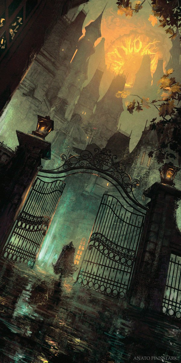"""The #FanArt of #Bloodborne   """"GothicYharnam""""  Artist: @AFinnstark<br>http://pic.twitter.com/fB34s5o5v8"""