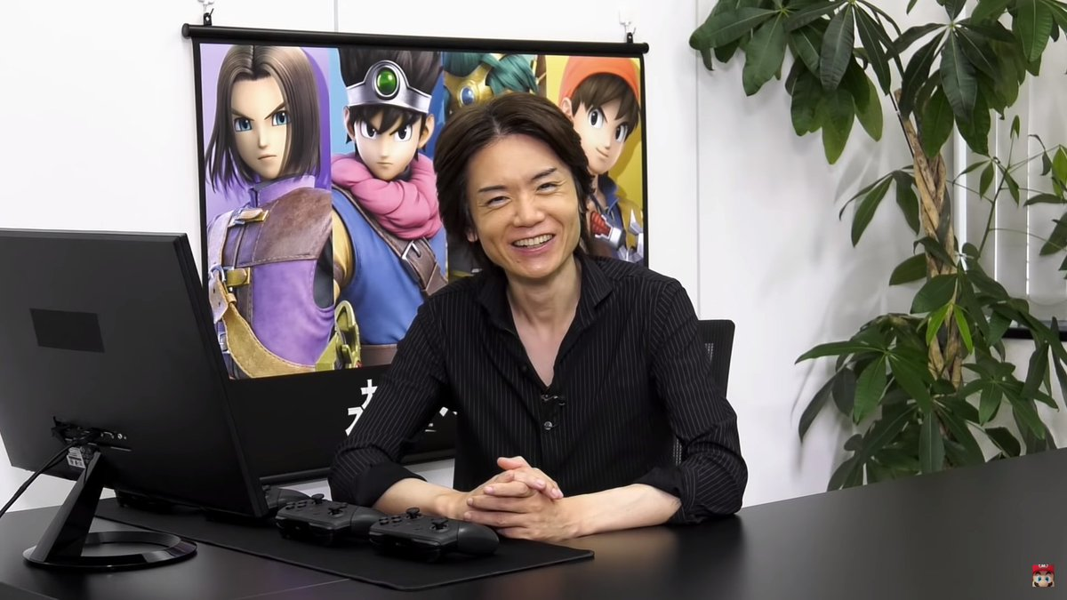 I just realized something. Sakurai is 100% calling his own shots with his DLC picks.  He knows he'll never please everyone so rather than desperately try to appease the masses his motivations are going completely into picking the characters he WANTS to make. I madly respect that.
