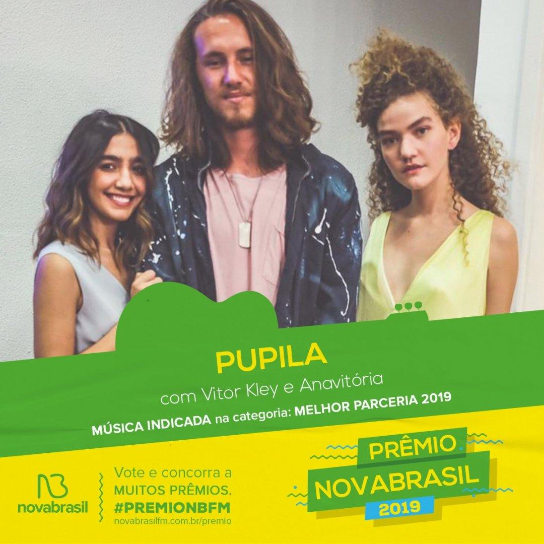 """Escolha os melhores no Prêmio NOVABRASIL 2019!  A música """"Pupila"""", interpretada por @VitorKley e o duo @oanavitoria, está concorrendo na seguinte categoria: Melhor Parceria 2019.⠀⠀⠀ ⠀⠀⠀ Para votar, acesse: http://www.novabrasilfm.com.br/premio⠀⠀⠀ pic.twitter.com/SmNrnTB2e9pic.twitter.com/V50DP86uwt"""