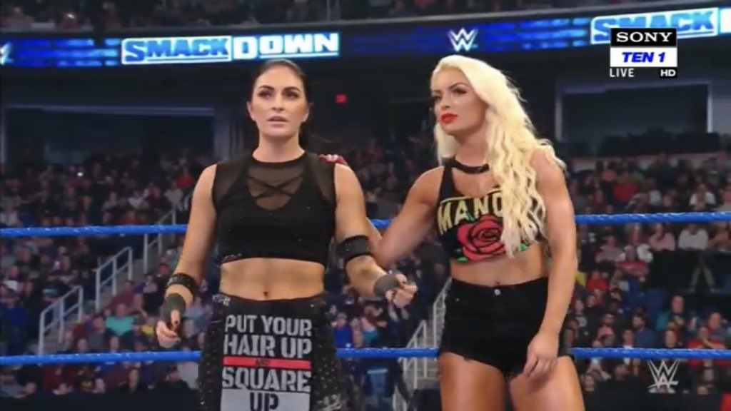 .@SonyaDevilleWWE is ready for battle against @AlexaBliss_WWE LIVE on #SmackDown!
