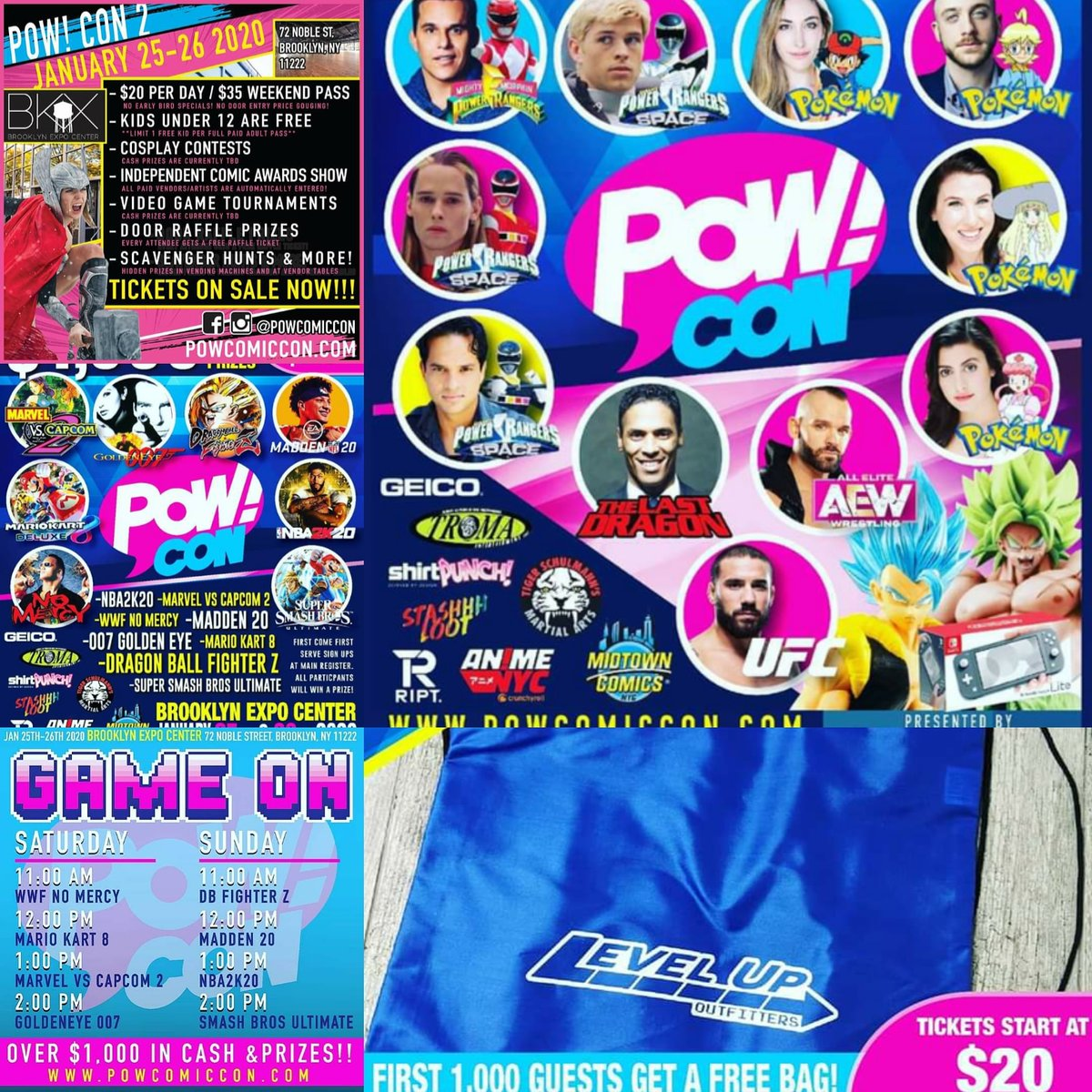 PowCon (@comic_pow) is next weekend. Did you get your tickets yet??? Don't you dare miss out! #powcon #powcon2020 #powcomiccon #strangeinthemembrane #geekculture #geekpodcast #daretobestrange #wearethechange #gothampodcaststudiopic.twitter.com/PBqCImF1nQ