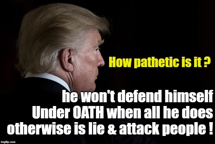 .  Pathetic !  #ImpeachTrump <br>http://pic.twitter.com/VIcnTFMFWj