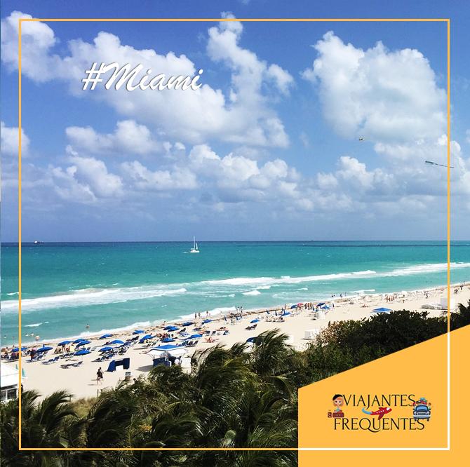 Miami - Estados Unidos🌤  Famosa por seu clima e praias incríveis, você encontra tudo o que precisa para curtir as férias dos seus sonhos: atrações de alto nível, hotéis luxuosos, gastronomia eclética..  ➡️ Acesse nosso site:  #Travel #ViajantesFrequentes