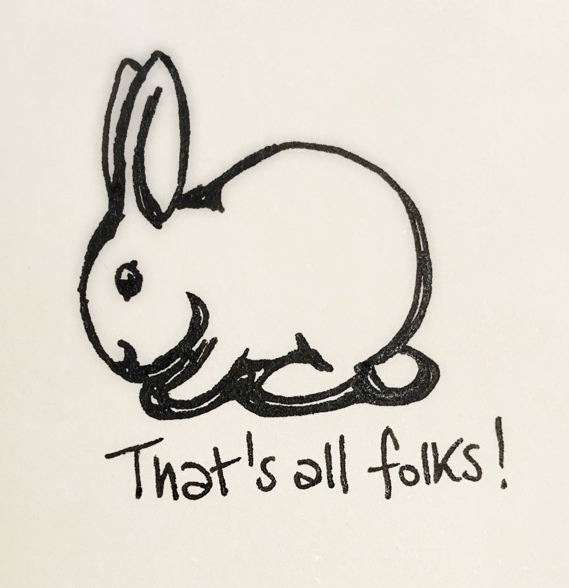 Good night, bunnies.