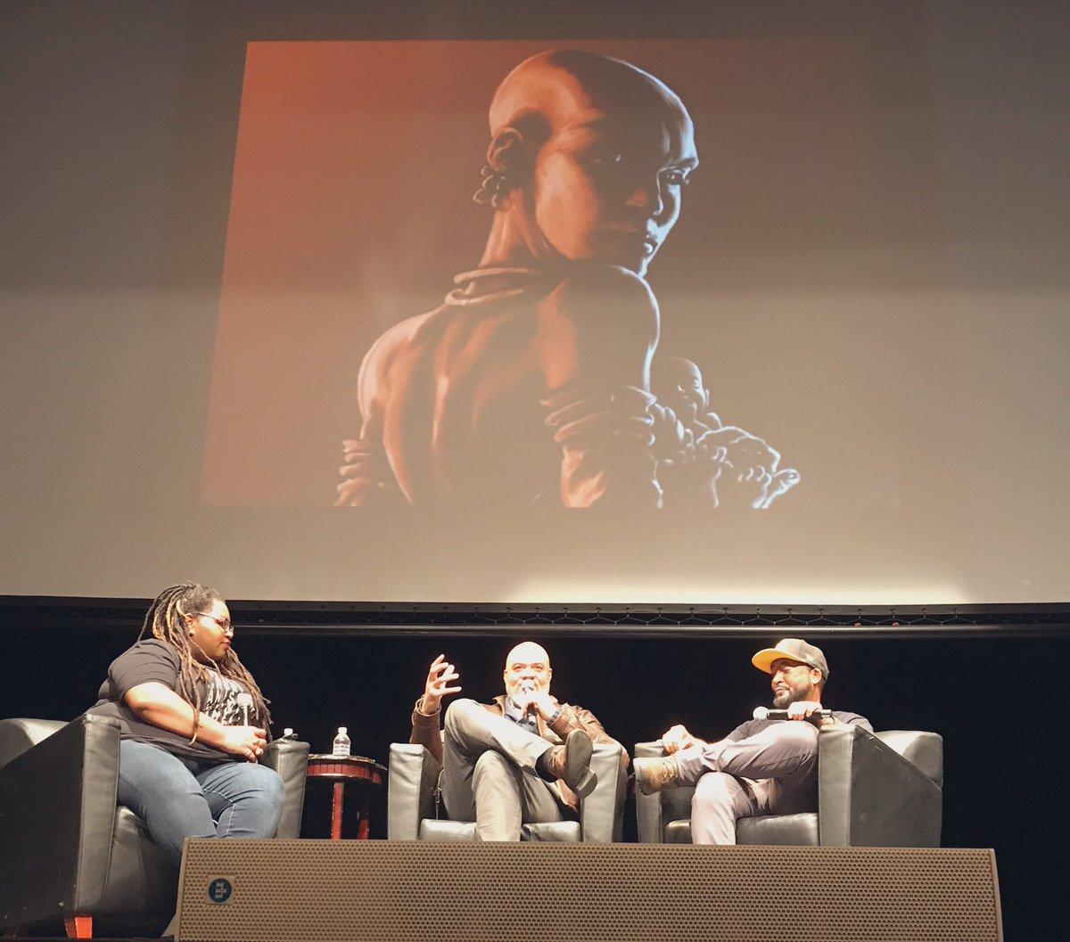 @FabulizeMag @Dieselfunkstu @DreamFuryComics talking Sci-Fi, Afrofuturism, and Beyond @SchomburgCenter's #SchomCom2020 #BlackComicBookFest #BCBF2020pic.twitter.com/9IHlM4INr5