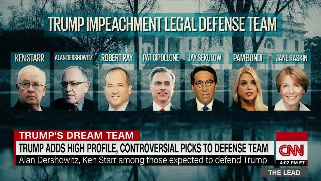 Many on Trump defense team have quality Trump values: TV experience @kaitlancollins reports cnn.it/373Evpf