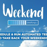 Image for the Tweet beginning: Take back your weekends! Achieve