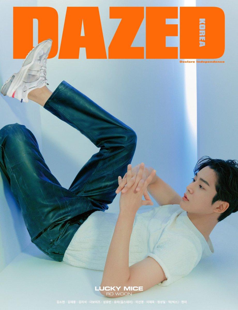 K-Pop Idol (#SF9) und Schauspieler (K-Drama: Extraordinary You) #RoWoon ziert das Titelbild der Februar-Ausgabe des Magazins 'Dazed Korea'. https://bit.ly/2TA6uJy #로운pic.twitter.com/VepeSxjNtf