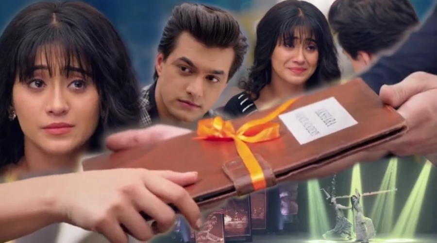 She was looking for a job and he found the opportunity to hand over what had always been hers. Kartik always accepted that dance was and would remain her first love. #Kaira #YRKKHpic.twitter.com/py0zSNWONI