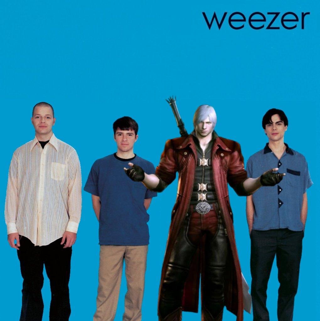 Dante is in Weezer!
