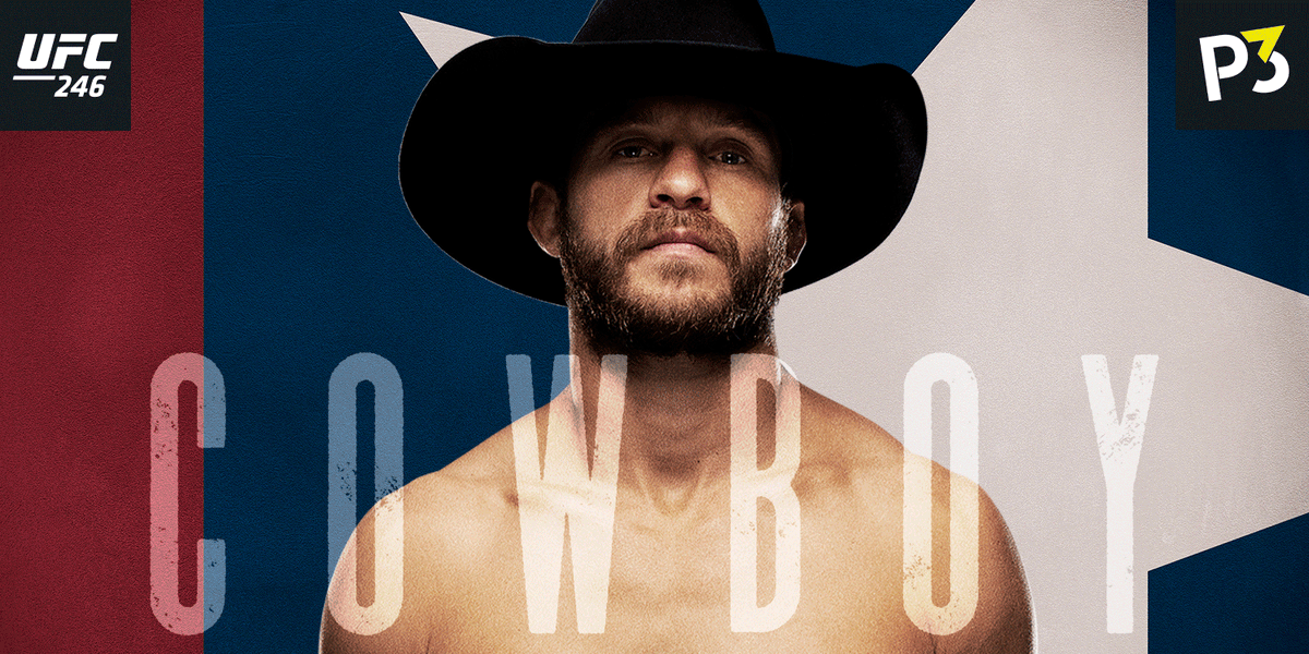 We know @CowboyCerrone is ready for #UFC246, but are you? Here are some interesting facts about Cowboy to get you ready. 📢#McGregor called him out in 2015 😎Most winningest @UFC fighter 🤠Owner of BMF Ranch https://t.co/77wXczaJDK