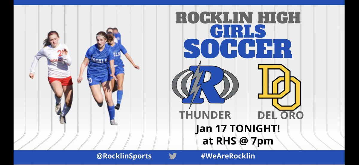 Girls Soccer looks to get their first league win when they play in the Stadium under the lights tonight. @PC65Sports @cameronsalerno1 @RocklinHighpic.twitter.com/hvWlJrN8Jg