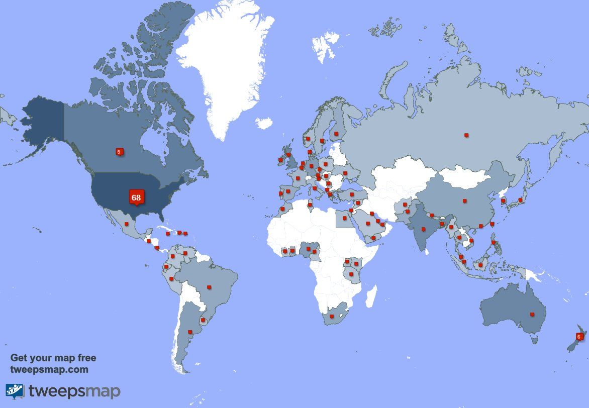 I have 6 new followers from India 🇮🇳, and more last week. See tweepsmap.com/!laura_krenicki