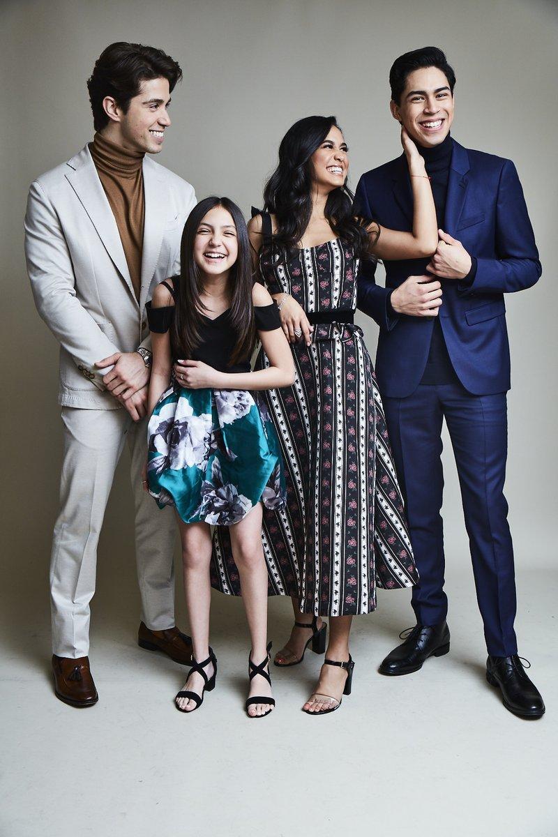 Our familia representing at TCA. __________ 📸: Maarten De Boer for @TVGuideMagazine