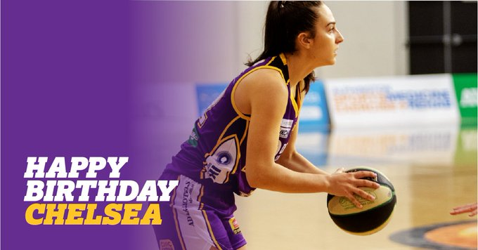 The Boomers want to wish a massive happy Birthday to Chelsea D\Angelo!