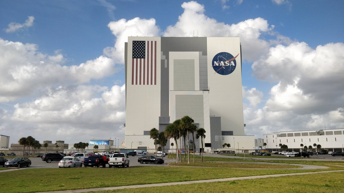 On our way back home from #CitrixSummit 2020. With some sightseeing on the last day #NASA