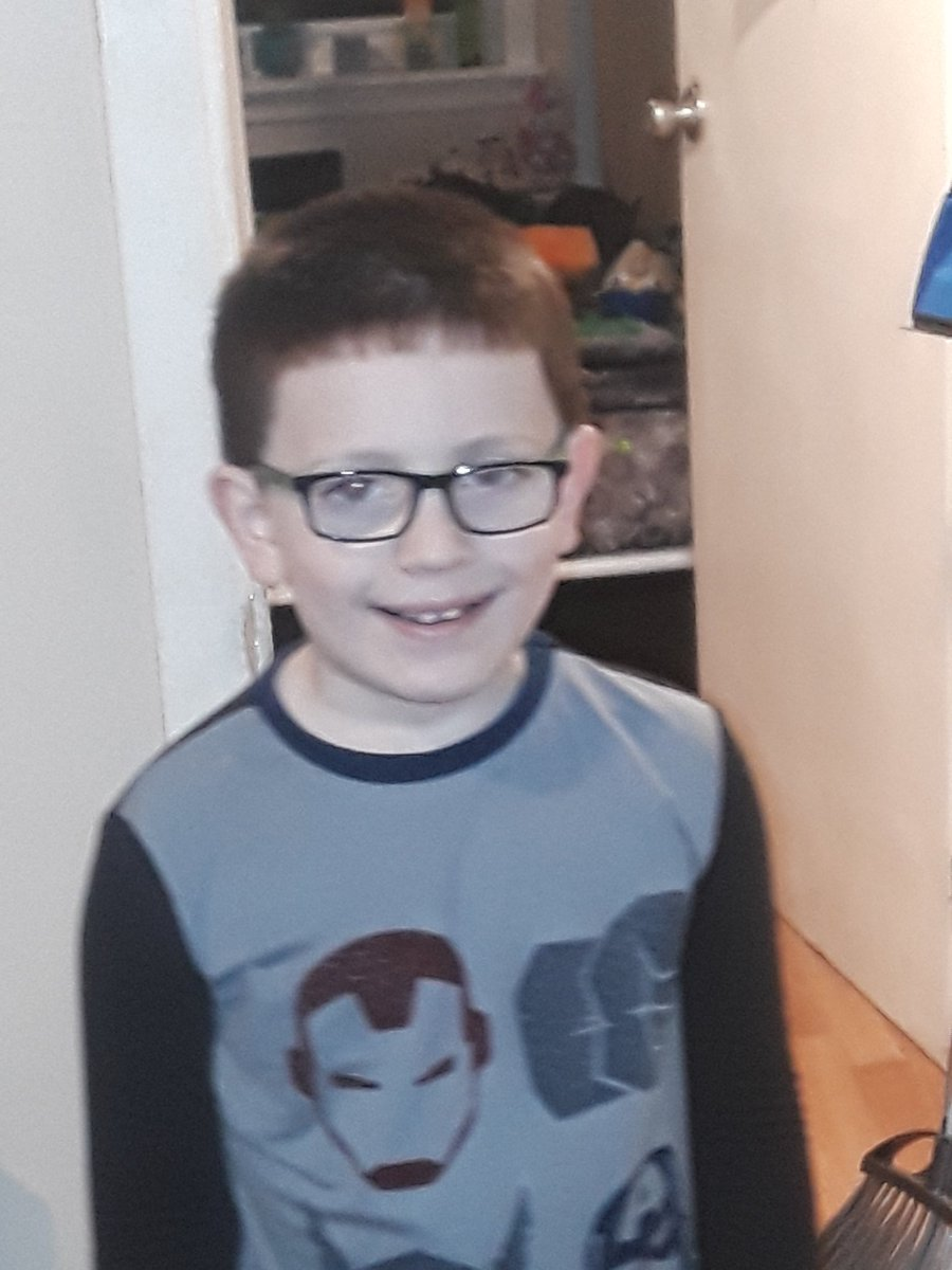 Someone got his glasses sooner than we thought Vision works felt so bad about my Ins troubles they overnighted his glasses we just picked them up he was speechless when he put them on I hope his eyes improve and surgery isn't needed  #Keratoconus #pleaseprayfornhim @HiddenCashpic.twitter.com/8uk76WVjxO