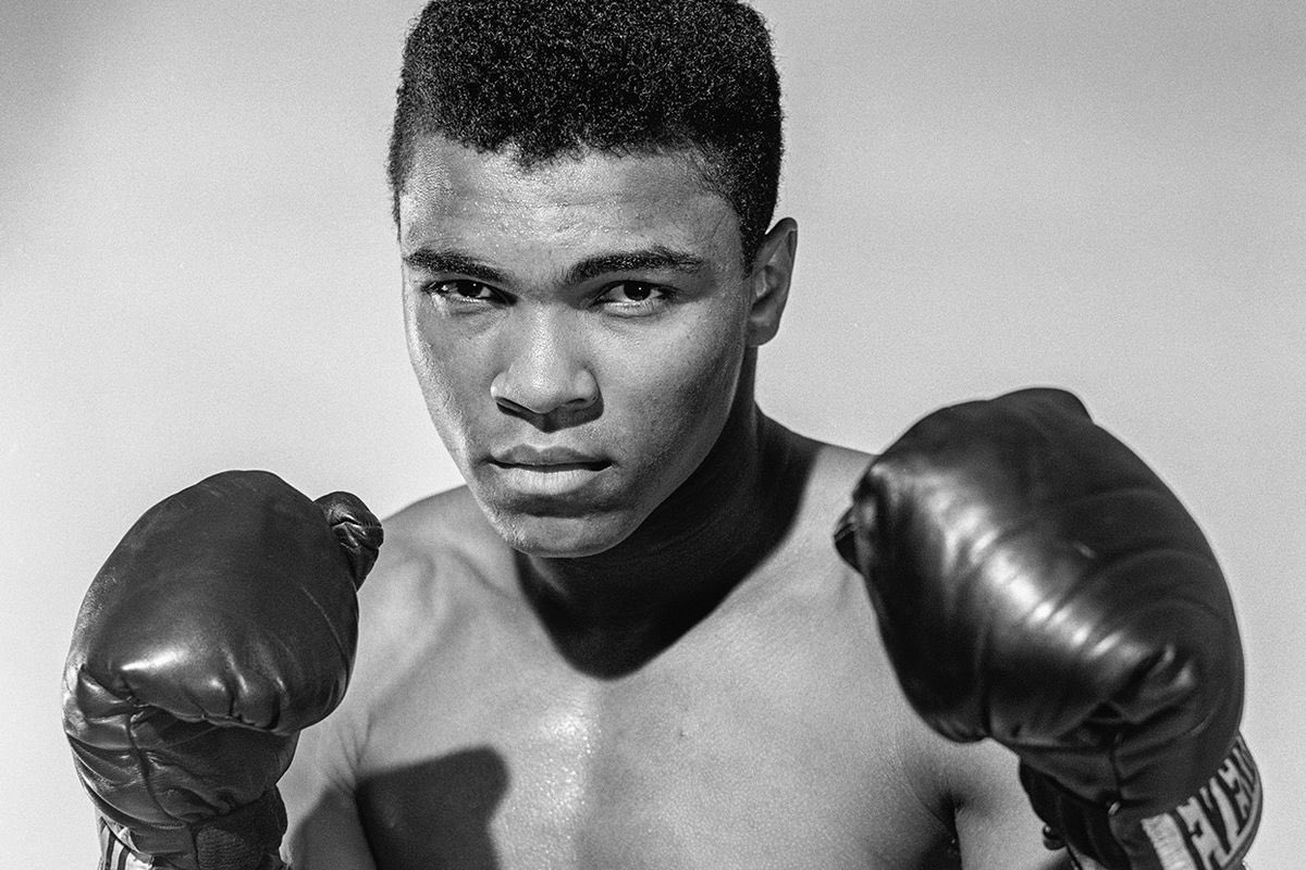 """He would have been 78 today. Always an inspiration and personal hero... his poster was on my wall as a kid, and he's a mental poster at all times. Truly, """"The Greatest"""". 🤜🏾 #MuhammadAli https://t.co/FHfNcZ8fok"""