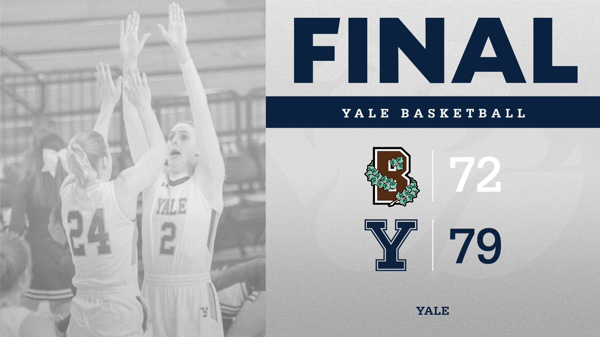 We open @IvyLeague play with a win Friday night and are now 1️⃣1️⃣ -3️⃣ -- the best record after 14 games in #YWBB history!   #ThisIsYale