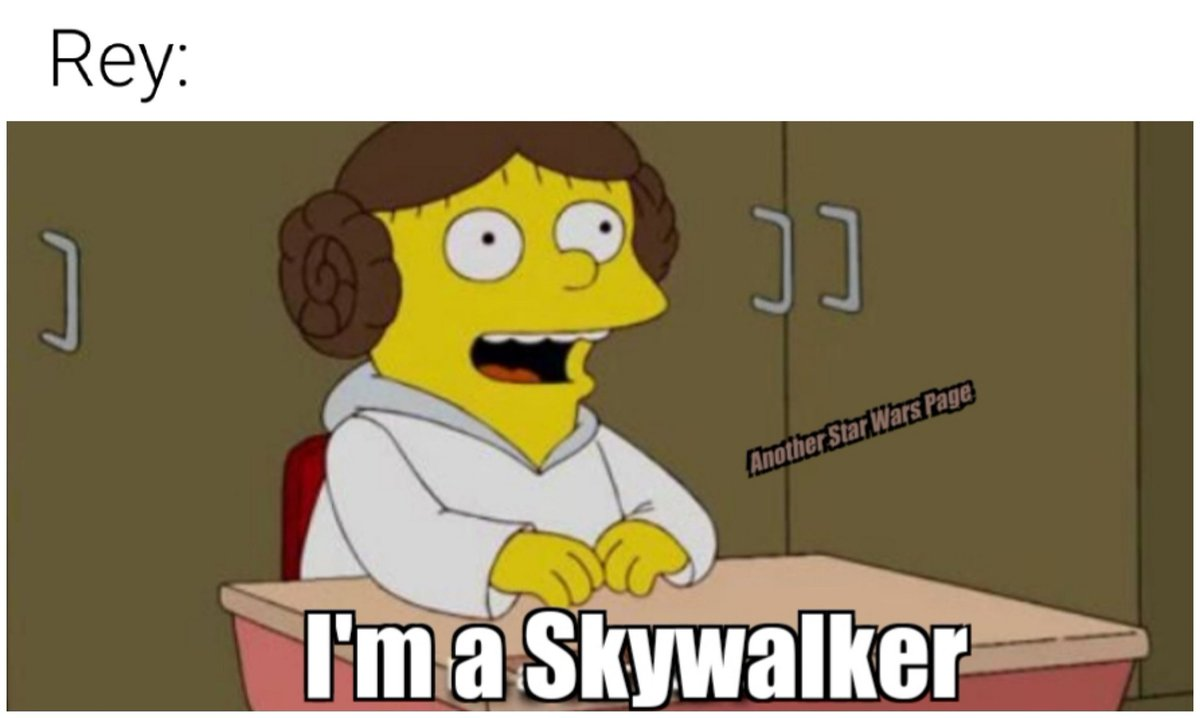 Pretty much  What did you think of the leaked Colin Trevorrow script for The Rise of Skywalker?  #starwars #starwarsmemes #memes #funny #reddit #redditmemes #ColinTrevorrow #theriseofskywalker #rey #palpatine #anotherstarwarspagepic.twitter.com/R1swtuHCor