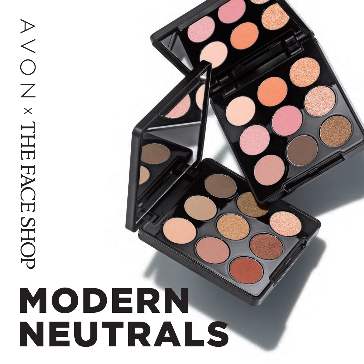 Tap into modern neutrals with our Mono Pop Eyeshadow Palette. The chic, monochromatic shades come in a mix of matte and shimmer, allowing you to create the perfect multidimensional look. .27 oz. total net wt.  http://go.youravon.com/3j6bftpic.twitter.com/xZaxaAnNT1