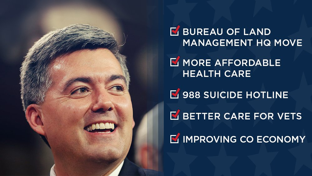 Good news doesn't always make the evening broadcasts or the front page, but 2019 was incredibly successful for the people of Colorado. @CoryGardner  continues to win big for Coloradans! #COSen  #copolitics   https://durangoherald.com/articles/309901