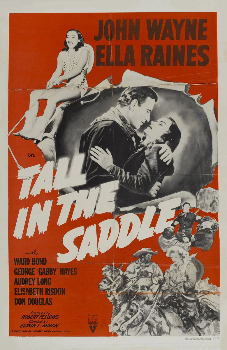 #NowWatching TALL IN THE SADDLE (1944) on #GritTV #Western #ClassicFilms #RKORadioPicturespic.twitter.com/fGNGOkT1ci