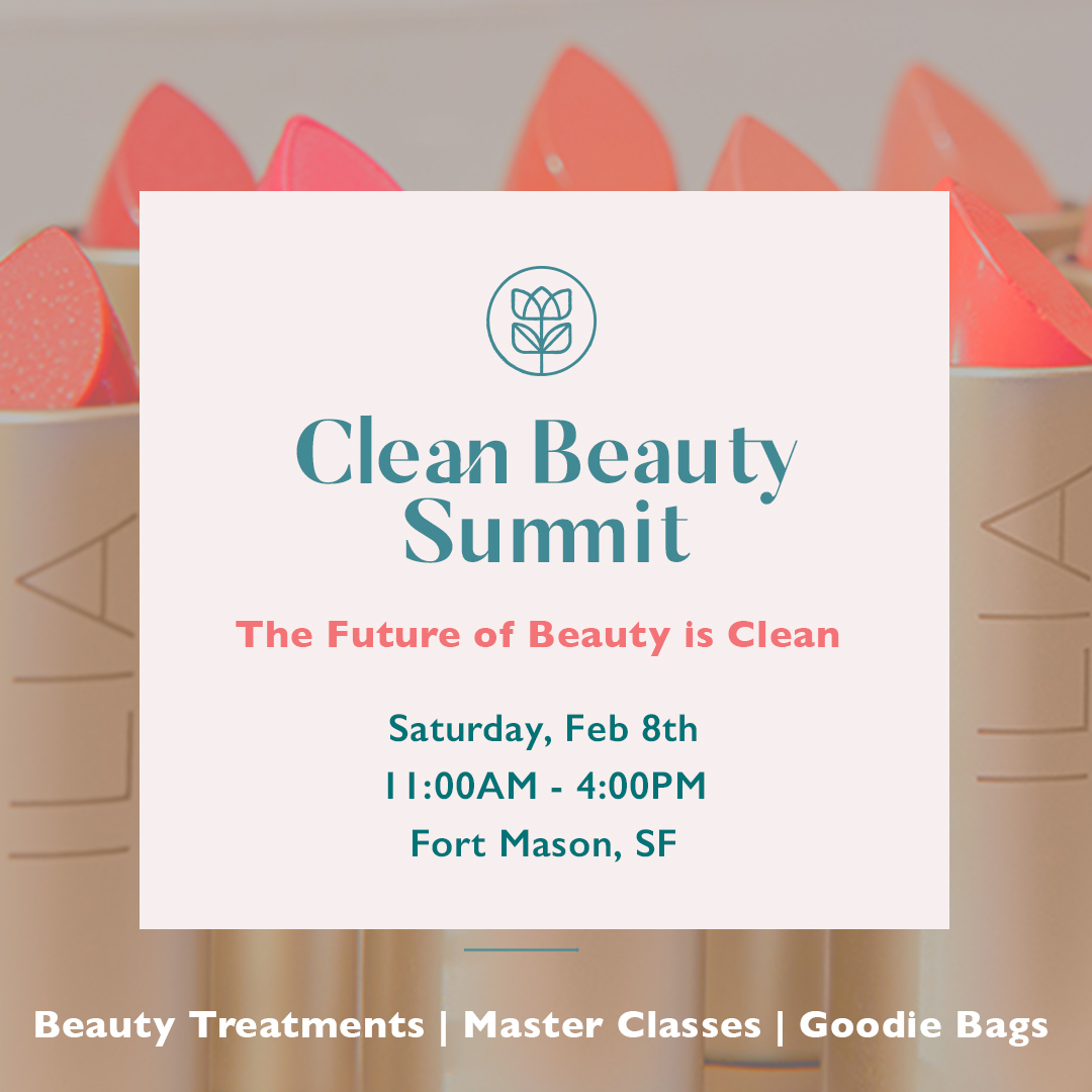 Credo's first-of-its-kind CLEAN BEAUTY SUMMIT is Feb. 8th. Join us for this one-day summit where we bring together the brightest, most creative makers from the #cleanbeauty industry. The Future of Beauty is Clean! Get Tickets NOW! https://t.co/rTelghZxtJ https://t.co/zFso1ynCNF
