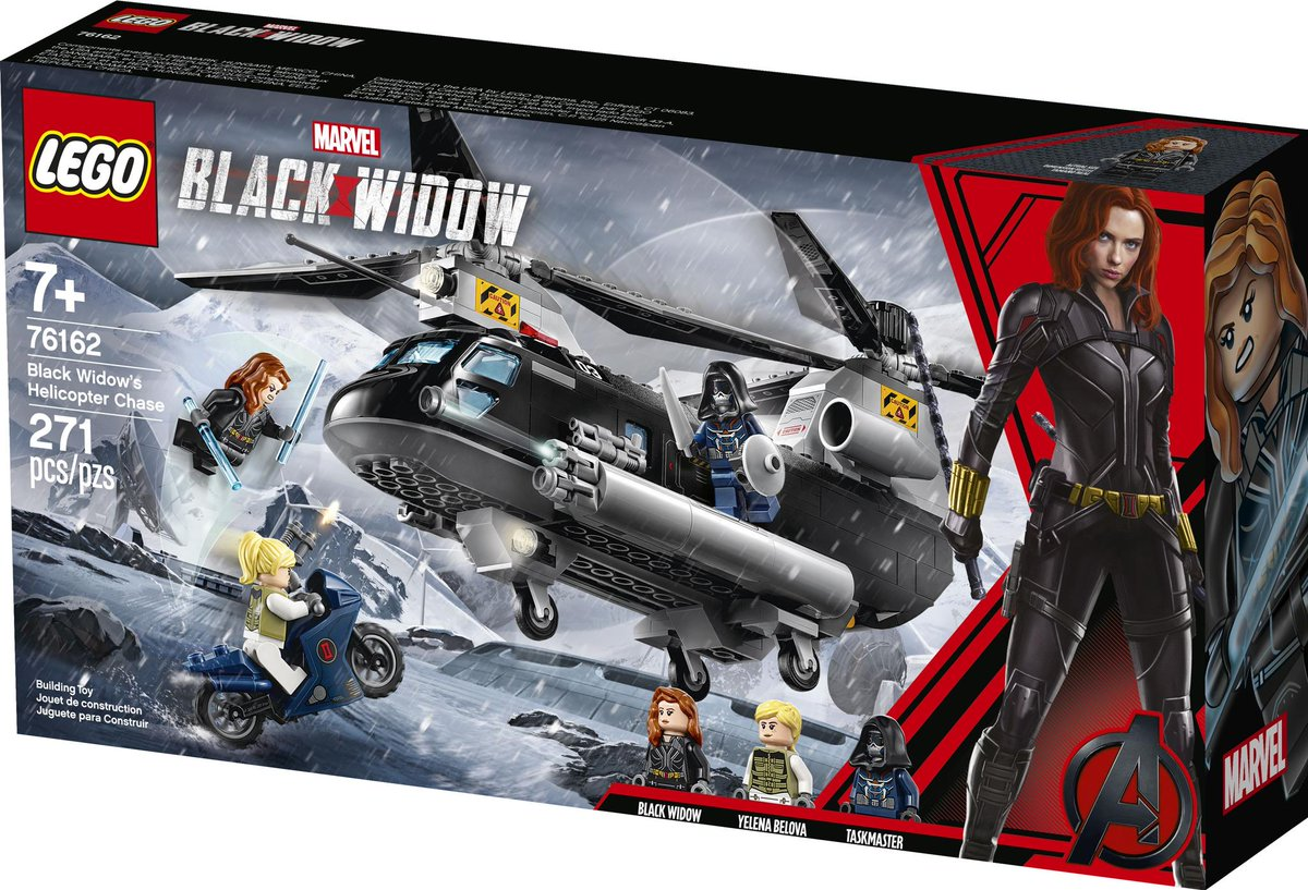Exclusive first look at #BlackWidow merchandise, from Funko and Lego to Adidas and body pillows  https:// yhoo.it/2NB4Bbo    <br>http://pic.twitter.com/YPsWATcuZx