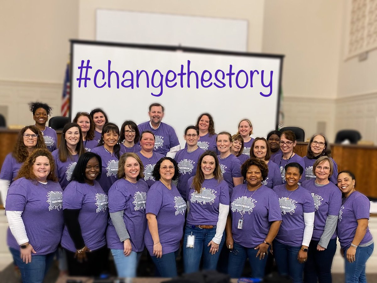 It takes a village to #ChangeTheStory. Join us! #EveryoneIsAMathPerson