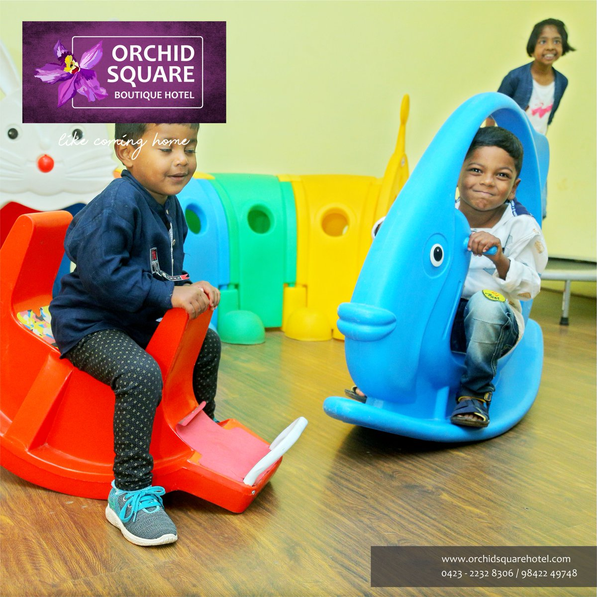 #KidsFriendly!! Kids too have a #funtime with activities galore to keep them occupied and busy at #OrchidSquare. #Fungames and #toys, #kids can have the times of their lives. While the parents can find some alone time of their own....! Visit: http://www.orchidsquare.inpic.twitter.com/3wlArcngNt