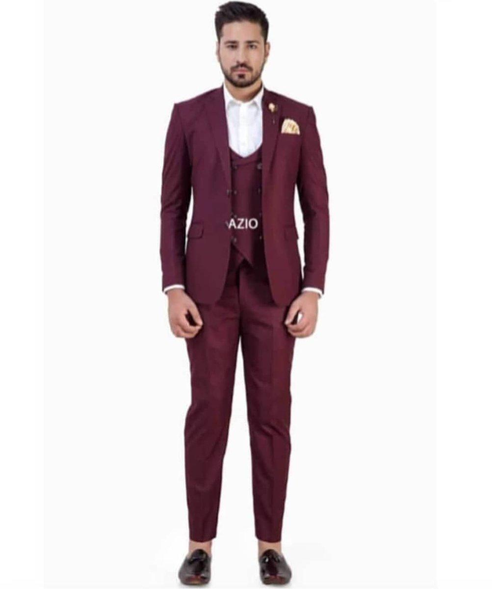 AZIO WINE TEXTURE 3PC SUIT #suitformen #designersuit #partywear3pcSuit #mensstyle #mensfashion #azio #aziodesign #likeforfollow #followoninstagrampic.twitter.com/ve7jn8fm9Q