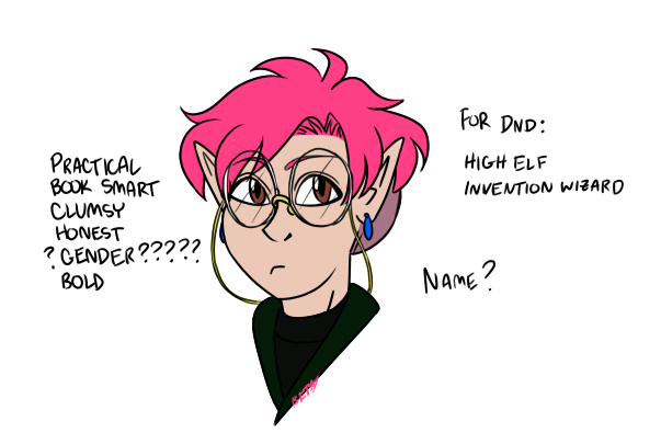 Daily Sketch 18: Nerd Elf, their glasses started out bigger pic.twitter.com/F2l1BoW63V