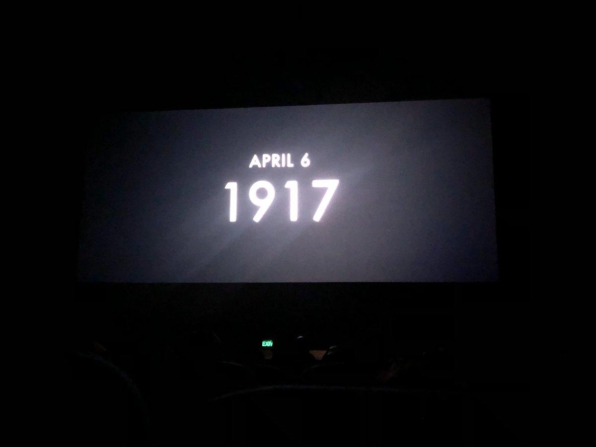 #1917  Masterpiece  #RogerDeakins legend pic.twitter.com/qeV3QfmKqr