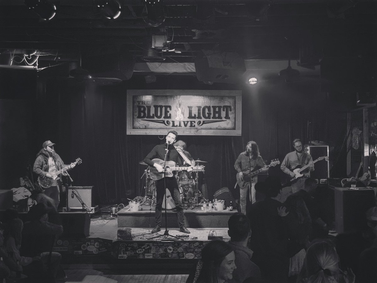 .@RedClayStrays at @BluelightLive tonight. ⚡️⚡️⚡️
