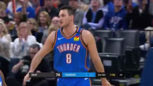 Gallo's got 18 on 5-9 from downtown.