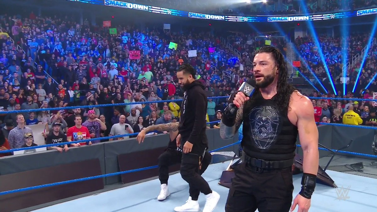 Roman Reigns Names Falls Count Anywhere Stipulation For King Corbin Match At The WWE Royal Rumble